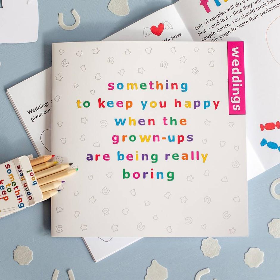 Children activity book
